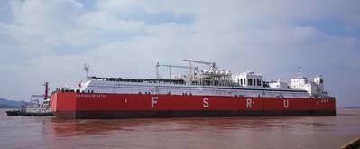 File Image: a typical FSRU vessel (CREDIT LR)