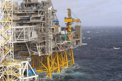 The Johan Sverdrup oilfield in the North Sea is on track to start production in November (Photo: Arne Reidar Mortensen / Equinor)