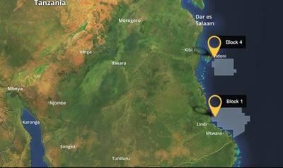 Map: Ophir Energy plc