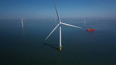 An Orsted offshore wind farm - Credit: Orsted