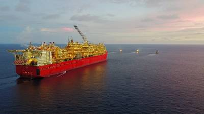 Prelude FLNG (File photo courtesy Shell)