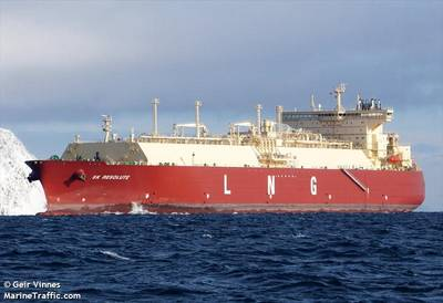 SK Resolute LNG Carrier - Image by Geir Vinnes - MarineTraffic