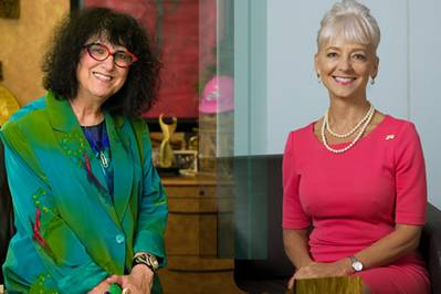 From left to right: Loretta Rosenmayer and Kelly Tomblin (Photo: INTREN)