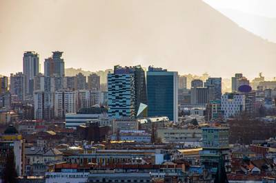 View of the Sarajevo city center and the parliament building -  Image by MuamerO/AdobeStock