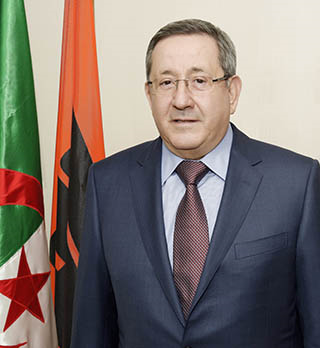 Sonatrach's CEO Abdelmoumen Ould Kaddour (Photo: Sonatrach)