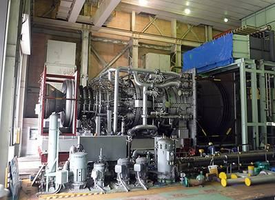 H-100 Gas Turbine (Photo: MHI)