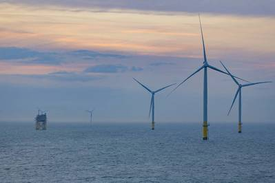 Walney Extension Offshore Wind Farm - Credit: Ørsted
