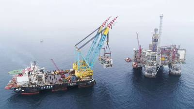 Wintershall Dea is currently developing its operated Dvalin field on the Norwegian continental shelf (Photo: Wintershall Dea)