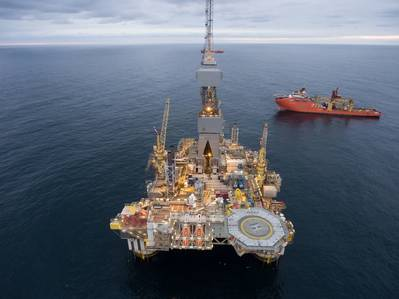 フェローは、Equinorが運営するNjord分野の株式7.5%を保有している(写真:Thomas Sola / Equinor)
