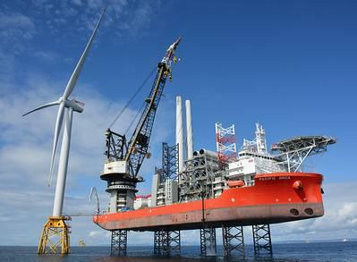 (写真:Beatrice Offshore Windfarm Ltd.)