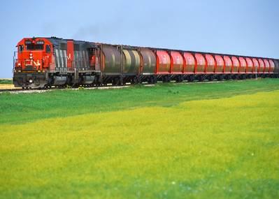 (الصورة: الشركة الوطنية الكندية للسكك الحديدية)