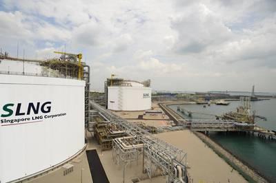 (Foto: Cingapura LNG Corp)