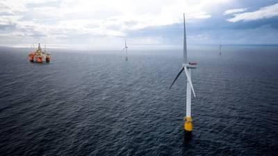 Das Hywind Tampen-Projekt von Equinor wird schwimmende Windturbinen verwenden, um die Öl- und Gasförderanlagen von Snorre und Gullfaks mit Strom zu versorgen. (Bild: Equinor)