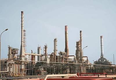Datei-Bild: Eine Raffinerie im Nahen Osten (CREDIT: MELCAL)
