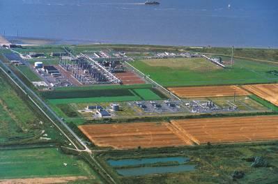Emden-Terminal (Foto: Gassco)