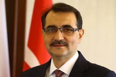 Fatih Donmez (Φωτογραφία: Υπουργείο Ενέργειας και Φυσικών Πόρων της Τουρκίας)