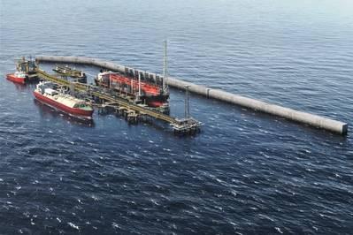 Greater Tortue Ahmeyim液化天然气开发(图片:BP)