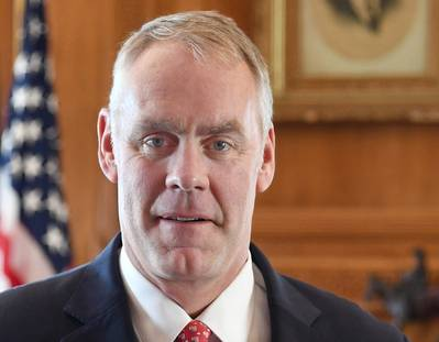 Innenminister Ryan Zinke (Foto: US-Innenministerium)