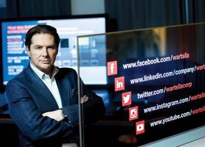 Marco Ryan, Chief Digital Officer & EVP, Wärtsilä. Foto: Wärtsilä