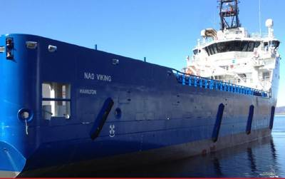 'NAO Viking'。照片:Nordic American Offshore
