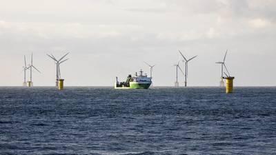 SeaMade Offshore-Windpark. Bild: DEME-Gruppe