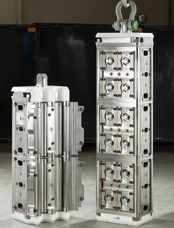 Νέοι σφιγκτήρες σχεδιασμένοι και κατασκευασμένοι για την TechnipFMC (Φωτογραφία: RED Engineering)