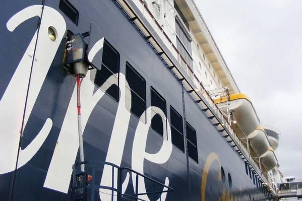 Παροχή τροφοδοσίας Shore / Foto: Λιμάνι του Kiel