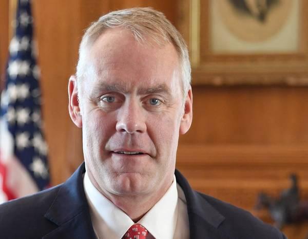 Министр внутренних дел Райан Зинке (Фото: Министерство внутренних дел США)