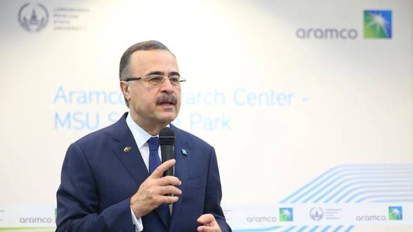 الرئيس التنفيذي لشركة أرامكو السعودية أمين ناصر (تصوير: أرامكو السعودية)