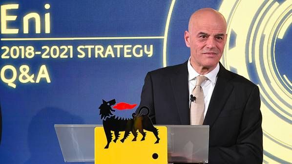 الرئيس التنفيذي لشركة Eni كلاوديو ديسالتزي (الصورة: Eni)