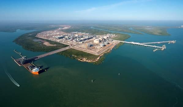 مرافق Ichthys LNG البرية (تصوير: Inpex)