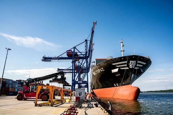 图片:克莱佩达州海港管理局