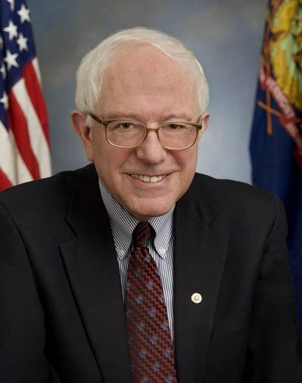 美国参议员伯尼·桑德斯。图片来源:美国参议院网站。