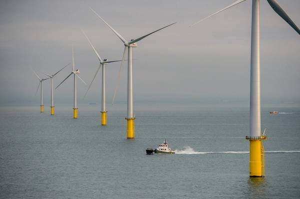(写真:Rampion Offshore Wind)