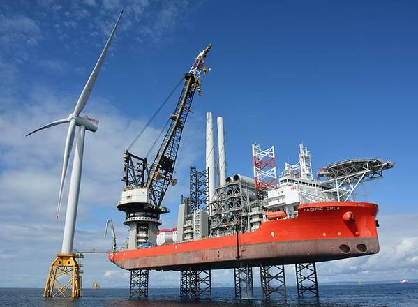 (Φωτογραφία: Beatrice Offshore Windfarm Ltd.)