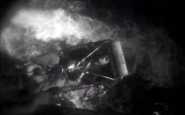 (Снимок экрана с видео Лоры Ратлифф / USCG)