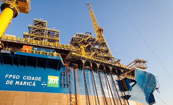 (Foto cedida por cortesia da Petrobras)