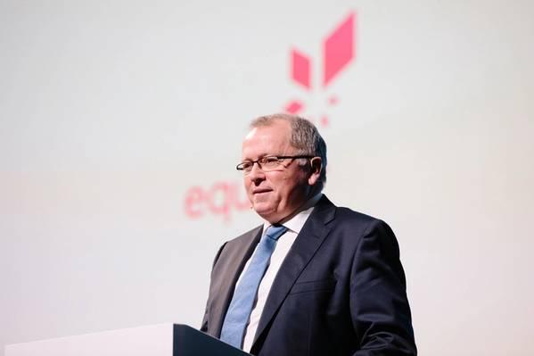 Eldar Saetre, Director Ejecutivo de Equinor (Foto: Ole Jørgen Bratland / Equinor)