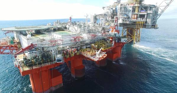 File Image: Uma foto tirada durante uma pesquisa offshore DNV GL Drone (CREDIT: DNV GL)