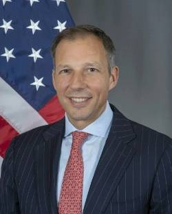 Frank Fannon, Subsecretario, Oficina de Recursos Energéticos (Foto: Departamento de Estado de los Estados Unidos)
