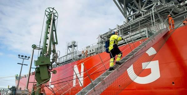GNL para a marinha. Foto: Skangas