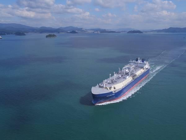 LNG-Tanker Eduar Toll (Datei Foto: Teekay)