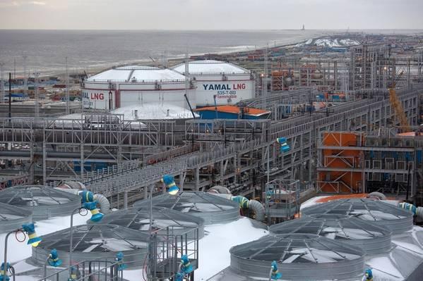 LNG Yamal. Foto: Total
