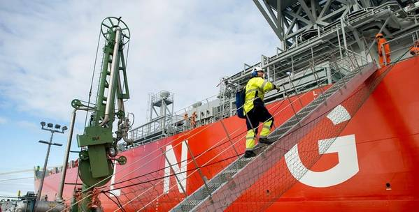 LNG for Marine。照片:Skangas