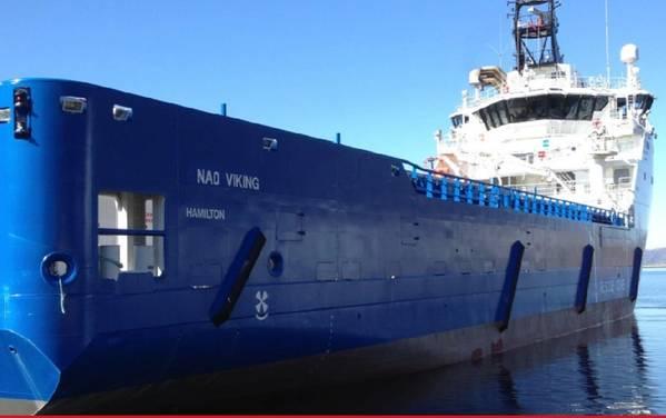 'NAO Viking'. Φωτογραφία: Υπεράκτιες χώρες της Βορείου Αμερικής