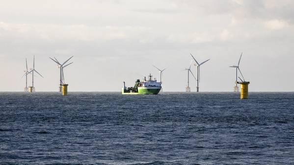 SeaMade Offshore Wind Farm. الصورة: مجموعة DEME