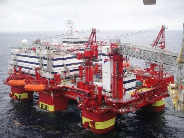 A Semco Maritime foi escolhida para preparar o equipamento de acomodação da Floatel Victory para uma nova tarefa para a Maersk Oil no setor do Reino Unido. Foto: Cortesia Semco Maritime