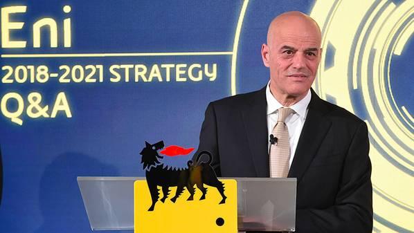 Διευθύνων Σύμβουλος της Eni Claudio Descalzi (Φωτογραφία: Eni)
