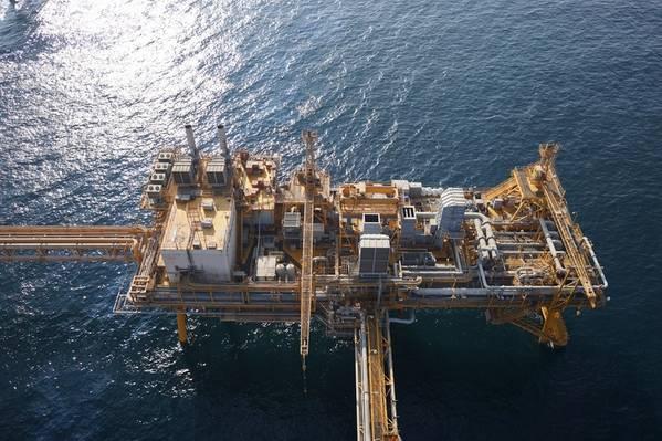Επιθεώρηση ανοικτής θαλάσσης για το Ντουμπάι Πετρελαίου. Φωτογραφία: Cyberhawk