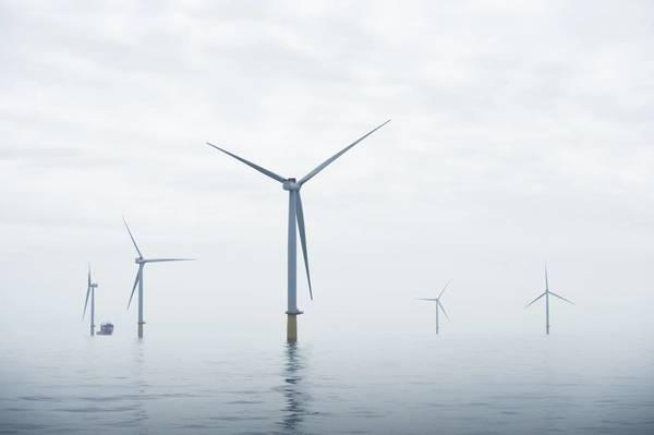 डुडजॉन अपतटीय पवन खेत (फोटो: ओले जोर्गन ब्रैटलैंड / स्टेटोइल)
